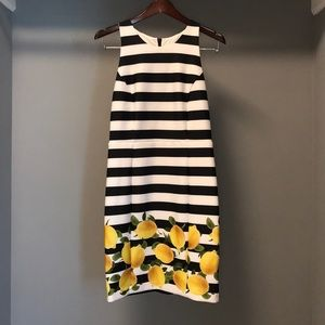 Milly by Design Nation Striped Lemon Dress